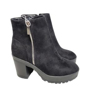 ⚡SALE! French Connection Jasmin Suede Chunky Boots